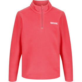 Regatta Hot Shot II Fleece Pullover Kinder fiery coral